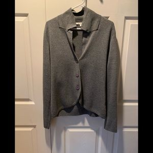 Cyrus Gray V neck Sweater
